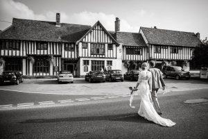 Bull Hotel Long Melford Wedding