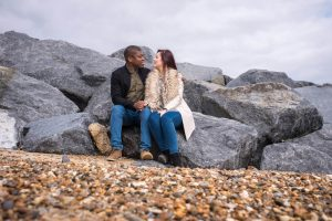 Engagement Picture at Felixstowe