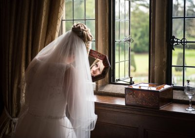 Bridal Prep at Hengrave Hall