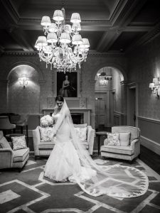 Bride at Down Hall