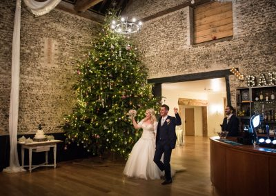 Christmas Wedding in Suffolk