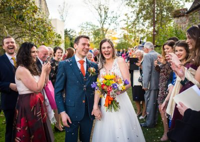 Clare Priory Wedding