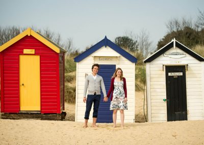 Engagement Portrait in Southwold