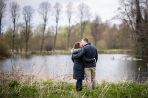 Engagement Portrait in Suffolk