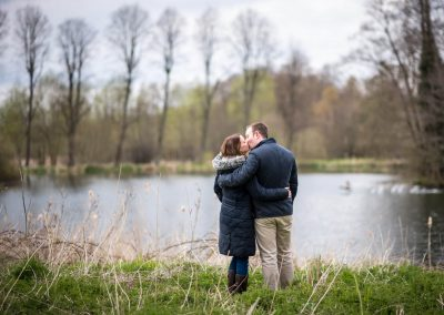 Engagement Portrait in Suffolk