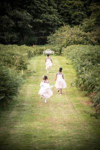 Kids playing at Weddings