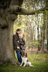 Natural Outdoor Portrait in Cambridge