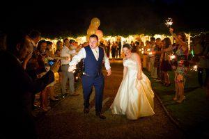 Wedding Slider - Sparklers
