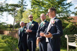 garden barn wedding