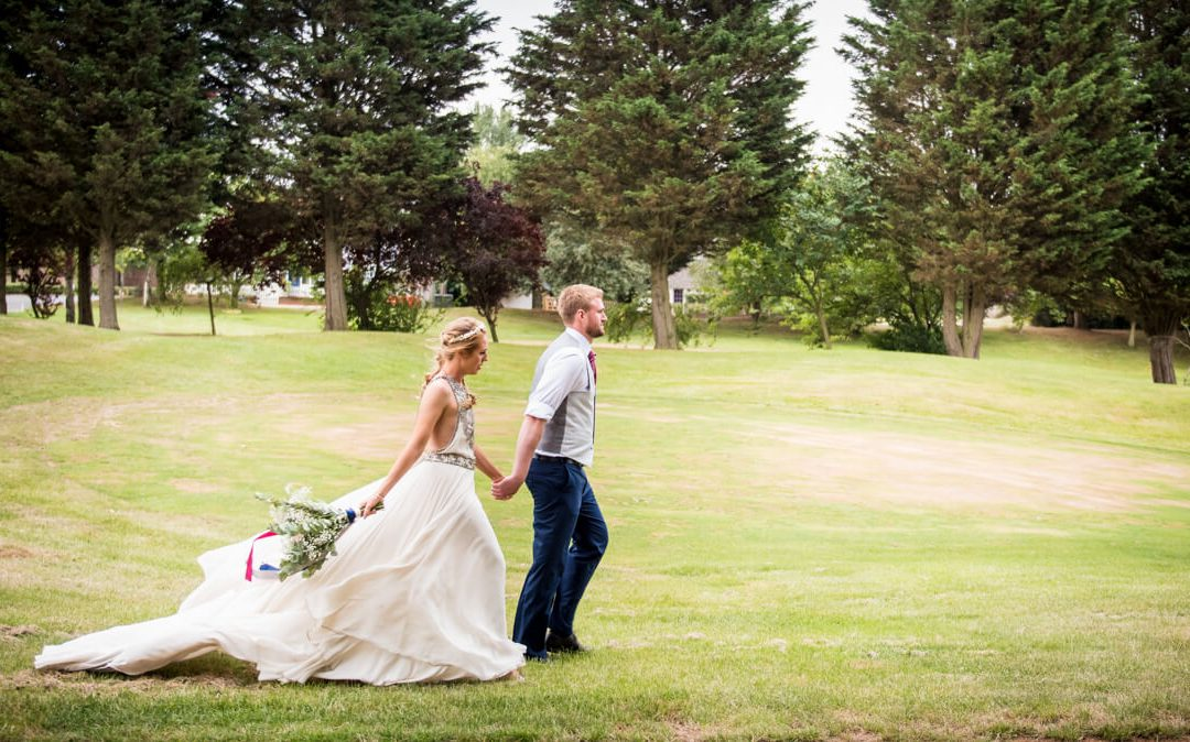 Hayley & Tom's Channels Essex Barn Wedding Day…