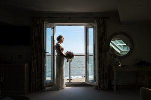 bride at fludyers hotel