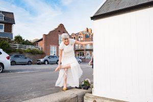 bride at felixstowe
